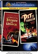 The Fall of the House of Usher / The Pit and the Pendulum (Midnite Movies Double Feature)