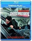 Mission Impossible: Ghost Protocol - Triple Play (Blu-ray + DVD + Digital Copy)[Region Free]