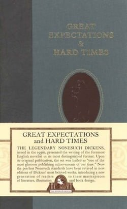 Great Expectations (Nonesuch Dickens) AND Hard Times (Nonesuch Dickens)