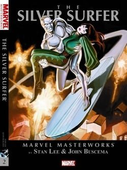 Marvel Masterworks: The Silver Surfer Volume 2 TPB (Marvel Masterworks (Numbered))