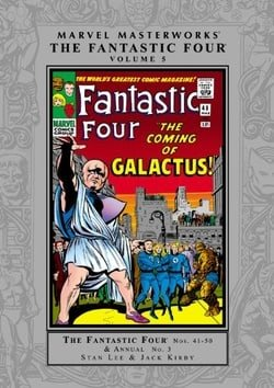 Marvel Masterworks: The Fantastic Four - Volume 5 (Marvel Masterworks Fantastic Four (Quality))