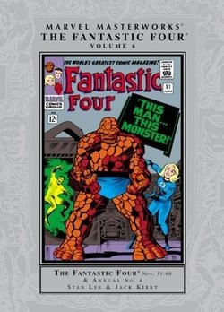 Marvel Masterworks: The Fantastic Four Volume 6 (Marvel Masterworks Fantastic Four (Quality))