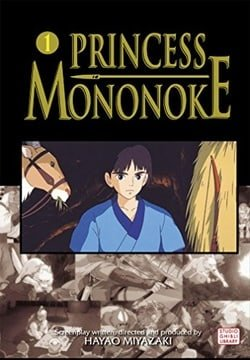 Princess Mononoke Film Comic 1 (Princess Mononoke Film Comics)