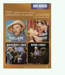 TCM Greatest Classic Legends: Kirk Douglas (Lust for Life / The Bad and the Beautiful / Young Man wi