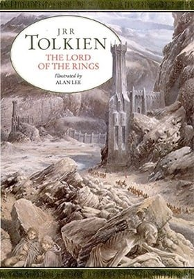 The Lord of the Rings - illustrated hardback