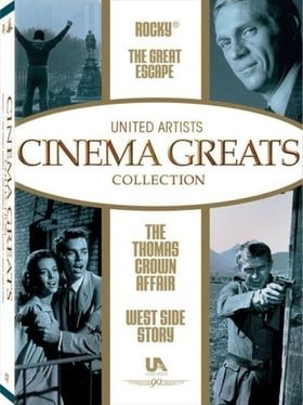 United Artist Cinema Greats Collection, Set 2 (The Great Escape / Rocky / West Side Story / The Thom