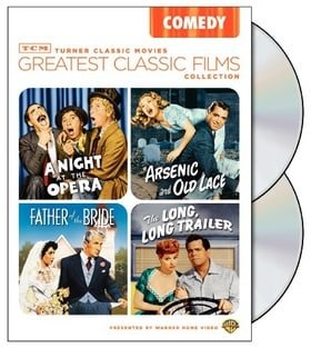 TCM Greatest Classic Films Collection: Comedy (Arsenic and Old Lace / A Night at the Opera / The Lon