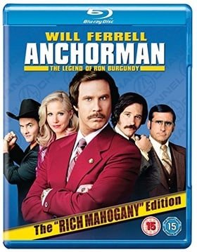 Anchorman - The Legend Of Ron Burgundy (Extended Cut) [BLU-RAY]
