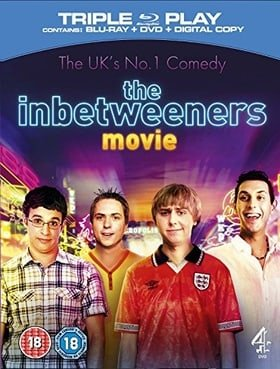 The Inbetweeners Movie Triple Play (Blu-ray + DVD + Digital Copy)