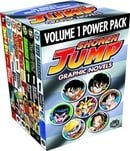 Shonen Jump Graphic Novels Power Pack, Vol. 1 (Contains Volume I of Dragon Ball, Dragon Ball Z, Naru