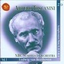 Arturo Toscanini: Ludwig Van Beethoven Symphonies Nos. 1,2,3,4 NBC Symphony Orchestra Vol. 1: 2 CD S