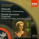 Strauss: Four Last Songs / [12] Orchestral Songs (Great Recordings of the Century)