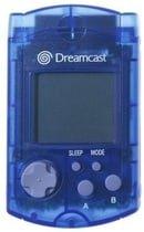 NEW Sega Dreamcast VMU Visual Memory Unit Card Blue