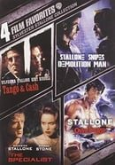 Sylvester Stallone: 4 Film Favorites- Tango & Cash, Demolition Man, Specialist, Over the Top