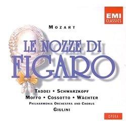 Mozart - Le nozze di Figaro / Taddei · Schwarzkopf · Moffo · Cossotto · Wächter · Giulini