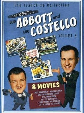 The Best of Abbott & Costello, Vol. 3 (Abbott & Costello Go to Mars / Abbott & Costello in the Forei