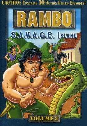 Rambo (Animated Series), Volume 3 - S.A.V.A.G.E. Island