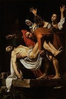 Caravaggio: The Entombment of Christ