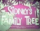 Sidney's Family Tree