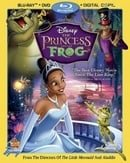 The Princess and The Frog (Three Disc Blu-ray/DVD Combo)