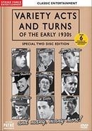 Variety Acts and Turns of the Early 1930s