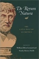 De Rerum Natura: The Latin Text of Lucretius (Latin and English Edition)