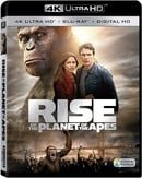 Rise of the Planet of the Apes (4K Ultra HD + Blu-ray + Digital HD)