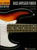 Bass Arpeggio Finder: Easy-to-Use Guide to Over 1,300 Bass Arpeggios Hal Leonard Bass Method