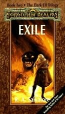 Exile (Forgotten Realms: The Dark Elf Trilogy - Book Two)