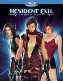Resident Evil: The High-Definition Trilogy (Resident Evil / Resident Evil: Apocalypse / Resident Evi