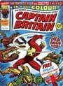 Captain Britain #1 UK Magazine/Comic 1976 No Mask
