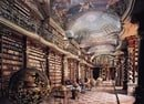 Baroque Library Hall in Clementinum