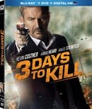 3 Days to Kill (+ DVD and UltraViolet Digital Copy) (Extended Cut)