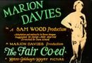 The Fair Co-Ed                                  (1927)