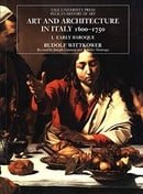 Art and Architecture in Italy 1600-1750, Vols. 1-3