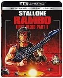 Rambo: First Blood Part II (4K Ultra HD + Blu-ray + Digital)