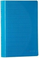 ESV Compact TruGrip Bible, Rubber Cover, Blue, Red Letter Text