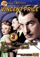 Vincent Price: House on Haunted Hill/Last Man on Earth/The Bat